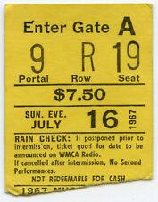 Jimi Hendrix & The Monkees Original 1967 Concert Ticket Stub - Super Rare