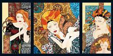 MASHER: Composition 1 Art Decó Imagen TERMINADA 50x100 mural