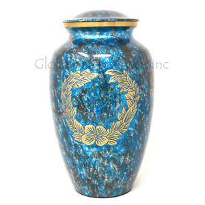 Cremation Urns Custom Made Brass Adult Ashes Urn, Memorial