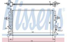 NISSENS Radiador, refrigeración del motor OPEL ASTRA ZAFIRA VAUXHALL 63028A