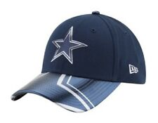 DALLAS COWBOYS LADIES ADJUSTABLE BLUE CAP HAT WITH STAR LOGO AND DESIGN ON BILL
