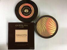 Guerlain Terracotta SOUS LES PARLMIERS Bronzing & Blush Powder 0.8 Oz NEW