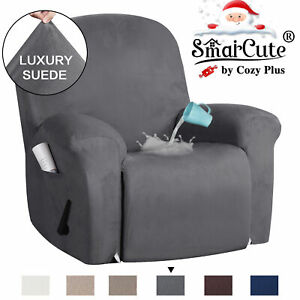 Recliner Cover Non Slip Stretch Suede Recliner Couch Covers Recliner Chair Cover
