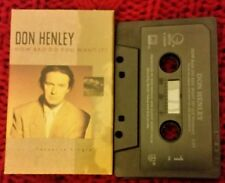 HOW BAD DO YOU WANT IT DON HENLEY VINTAGE  CASSETTE SINGLE WITH SLEEVE