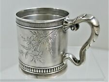 Great Gorham Aesthetic Sterling Silver Child Cup 1890 See Our Other Child Cups