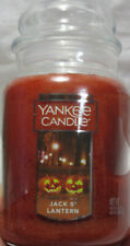 Yankee Candle Large Jar Candle 110-150 hr 22 oz Halloween Orange JACK O'LANTERN