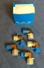 (1) Box w/ Qty (5) Imperial Eastman Male Elbow 649F08X06 Hydraulic Fittings -NOS