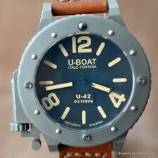 U-BOAT U-42 FULL SET LIMITED 999 $7,350 53MM TITANIUM AUTOMATIC ref. 6471 300M