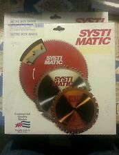 "Systematic 8-1/2"" 24 Tooth Miter Saw Blade w/ 5/8""Arbor. Framing blade"