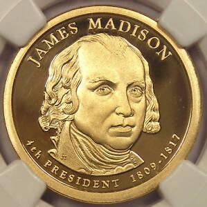 2007-S Proof James Madison Dollar - NGC PF70 Cameo!