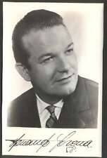 R Photo Fernando Corena Turkish Swiss Opera Bass O Signed 1968