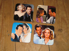 Moonlighting BRUCE WILLIS CYBILL SHEPHERD Set de sous-verres