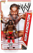 Mattel WWE Basic Series 15 Kofi Kingston (#14) Wrestling Action Figure