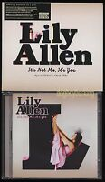 Lily Allen It's Not Me It's You CD & PAL DVD Special limited edition 2009 UK