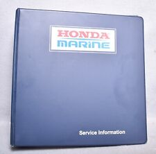 Honda Marine BF200A & BF225A Outboard Motors Workshop Manual First Edition