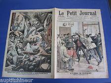 Le petit journal 1906 806 USA San Fransisco tremblement terre Clermont asile