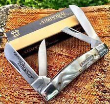 IMP20CI Canif Couteau Imperial Schrade Congress 4 Lames Acier Inox Manche ABS