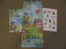SUPER CUTE eeBoo Keepsake Growth Chart - Lily Pad Pond theme