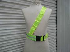 High VisYellow Reflective Safety Cyclist/Runners/ Shoulder Belt kids