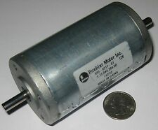 Buehler 12 V DC Big Hobby Motor - Very High Torque - 4000 RPM - Dual 6 mm Shaft