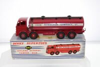 Dinky #943 - Leyland Octopus Tanker - Red (Esso) - A/B