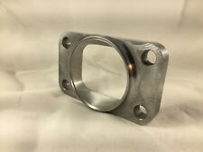 "T3 Turbo Inlet Flange To 2.5"" Pipe, Undivided, Smooth Airflow , US MADE"