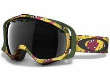 Oakley Tanner Hall Crowbar Snow Goggle Dark Gray Lens One Size Plutonite Lenses