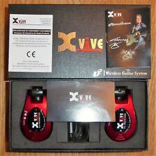 Xvive U2 Wireless Guitar System - Red