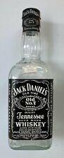 Jack Daniels black label fake tax seal, 500 ml EMPTY bottle.