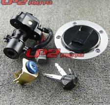 Ignition Switch Gas Cap Seat Lock Key Set For Suzuki GSXR1000 2005-2018