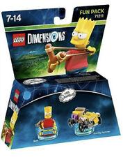 Lego Dimensions Simpsons Bart Fun Pack 71211 Original UK Release New Sealed
