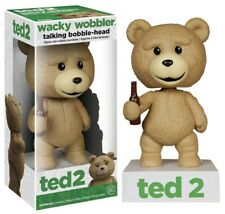 "TED 2 - Ted 6"" Wacky Wobbler Talking Bobble Head ~ PG Rated Version (Funko) #NEW"