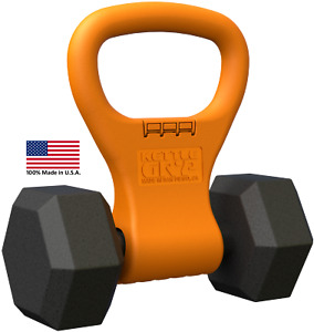 Kettle Gryp® - Dumbbell to Kettlebell Adapter / Handle - 100% Made in the USA