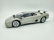 1/18 AutoArt Lamborghini Diablo in SILVER ***MINT!!!***