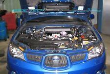 Silver Carbon Strut Lift Hood Damper for 00-07 Subaru Impreza GDBF GDB F WRX STi
