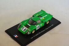 Spark SF041 - LOLA T70 MK3B n°58 1er Magny Cours 1970 J-P Beltoise 300ex  1/43