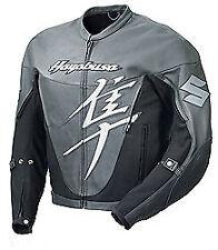 SUZUKI HAYABUSA Moto Cuir Veste Hommes Sports Cuir Veste Cuir Biker Veste