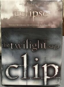 Twilight Eclipse Double Reversible Duvet Cover And 2 Pillowcases. New/unopened