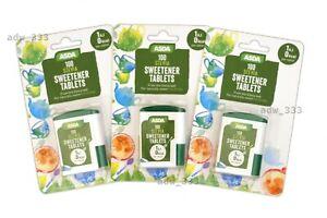 300 Stevia Sweetener Tablets Weight Loss Diet Diabetic Low Calories
