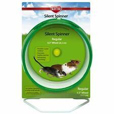 Kaytee Hamster Silent Spinner, 6 1/2 inch Exercise Wheel, Colors Vary
