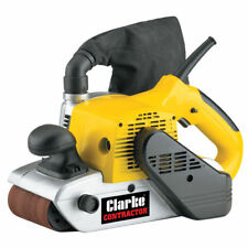Model Clarke Contractor Belt Sander Hand Held 230v 1200 Watt Cbs2 6462080