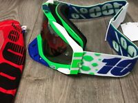 100% Accuri Motocross Brille MX Goggle Alchemy Racecraft Strata NEU NEW Enduro