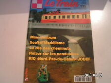 """** Le Train n°135 Mare Nostrum / RIO """" Nord-Pas-De-Calais """" Jouef"""