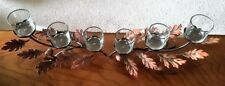PartyLite Falling Leaves Centerpiece-Set of 2