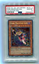 Yu-Gi-Oh! Limited Edition Dark Magician Girl CT2-EN004 Secret Rare PSA 10 MINT