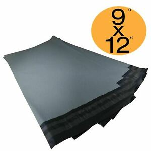 """A4 Size - 9"""" x 12"""" Strong Grey Self Seal Mailing Bags Packaging Mailing Postage"""