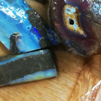339.9CT LOT *VIDEO* BEAUTIFUL Australian Queensland Boulder Opal ROUGH RUB RAW