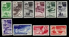 RUSSIA. Air Post Stamps. Chelyuskin. 1935 Scott C58-C67. MLH/OG (BI#27)