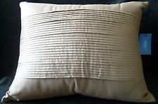 "New Simply Vera Vera Wang ""Plaza Suite Linen"" LINEN Throw Pillow~MSRP $50"