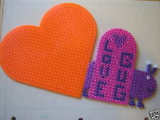 Large Heart  Pegboard  for Perler fuse beads - NEW
